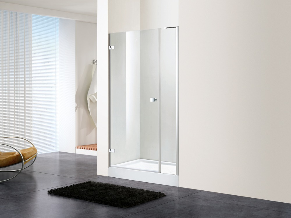 800x1950mm Glass Walk In Door Hinge Shower Enclosure Screen Bathroom Shower Room Door DY-PX159L(China (Mainland))