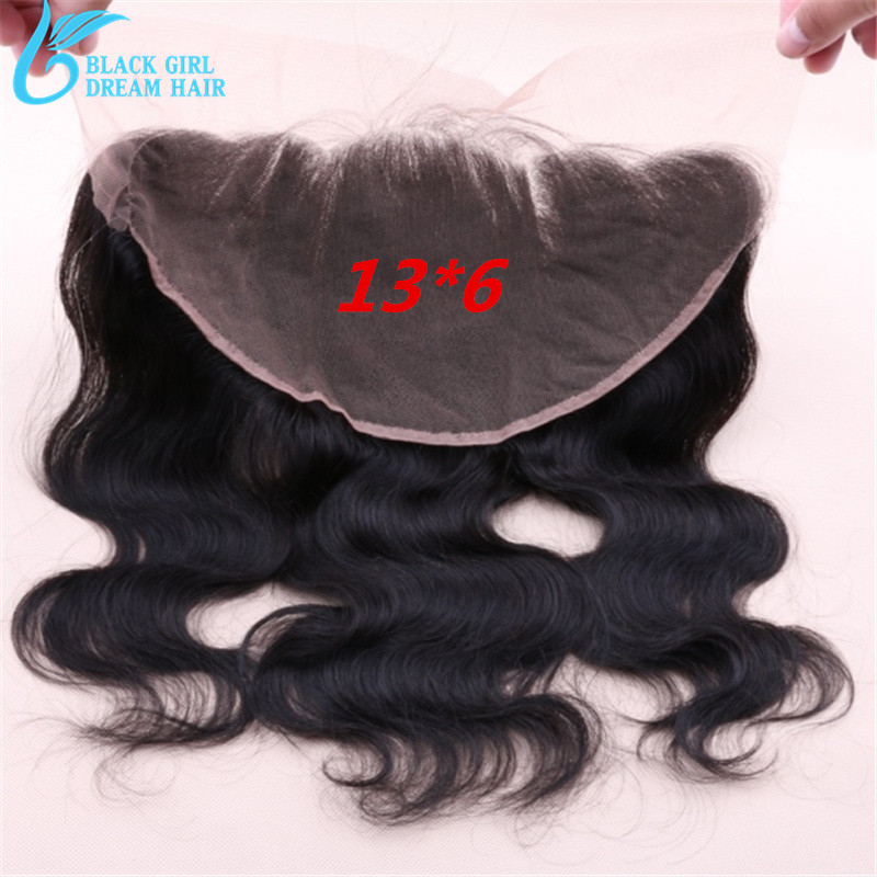 Фотография 13x6 Peruvian Ear To Ear Lace Frontal Closure With Baby Hair ,Peruvian Virgin Human Hair Lace Frontal Closure Bleached Knots