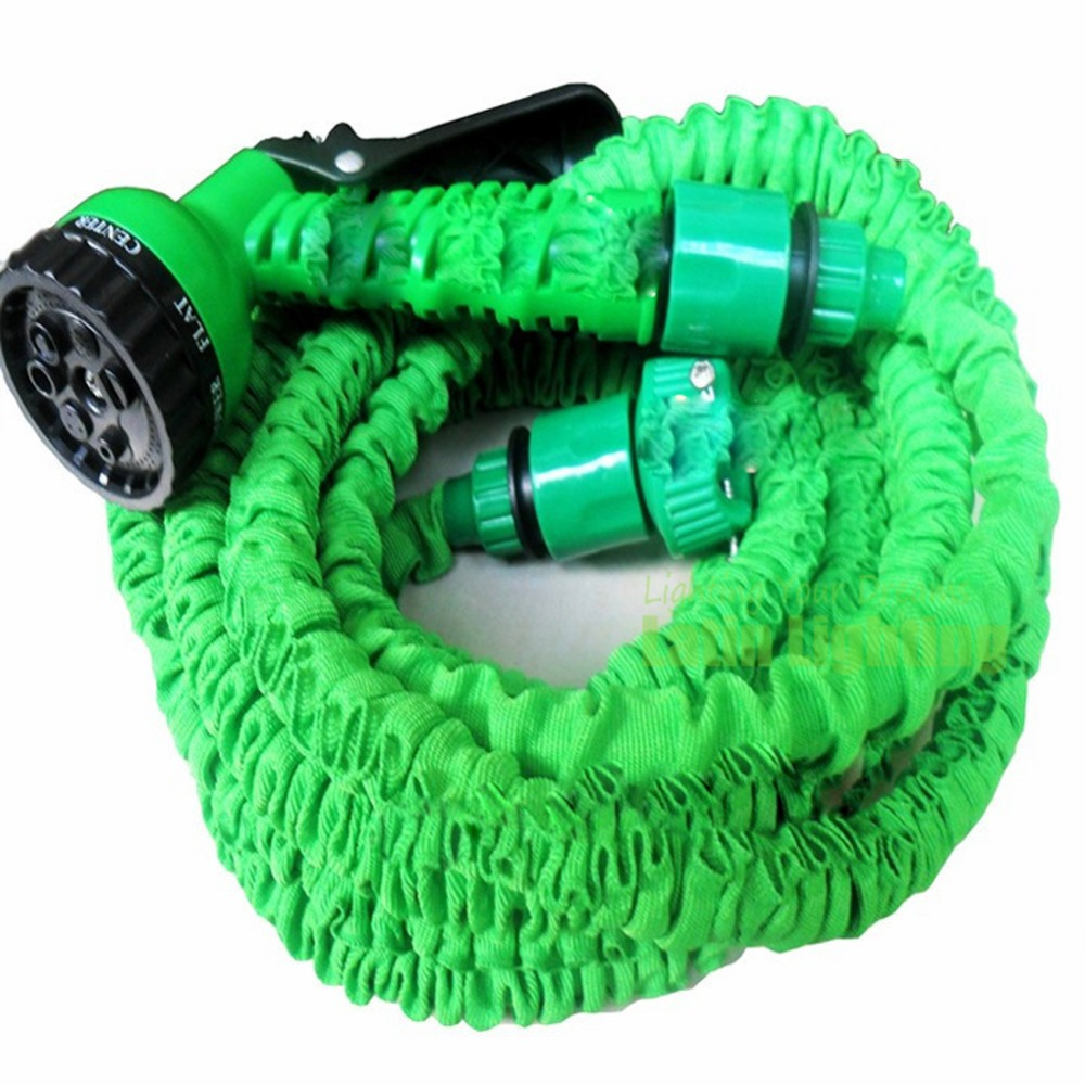 as seen on tv flexible garden water hose magic 30m spray gun wash pipe. Black Bedroom Furniture Sets. Home Design Ideas