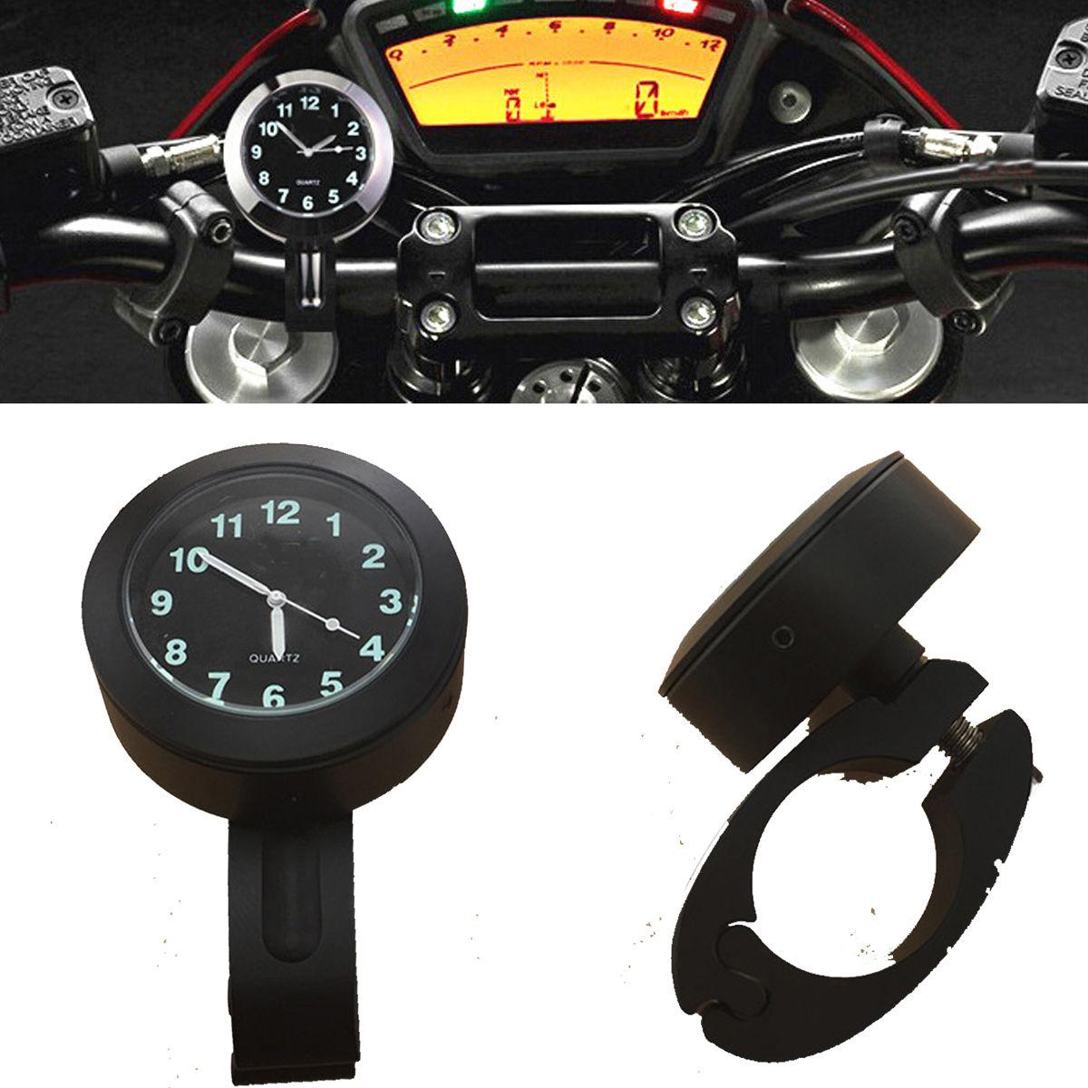 Часы на мотоцикл на руль своими руками