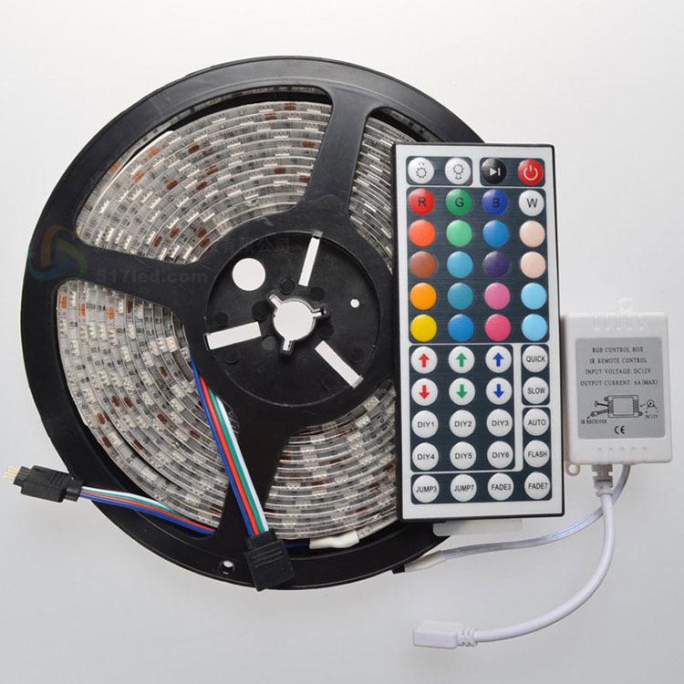 72w 5050 300 lampe rgb led weiches licht beleuchtungsstreifens unterst tzung remote power. Black Bedroom Furniture Sets. Home Design Ideas