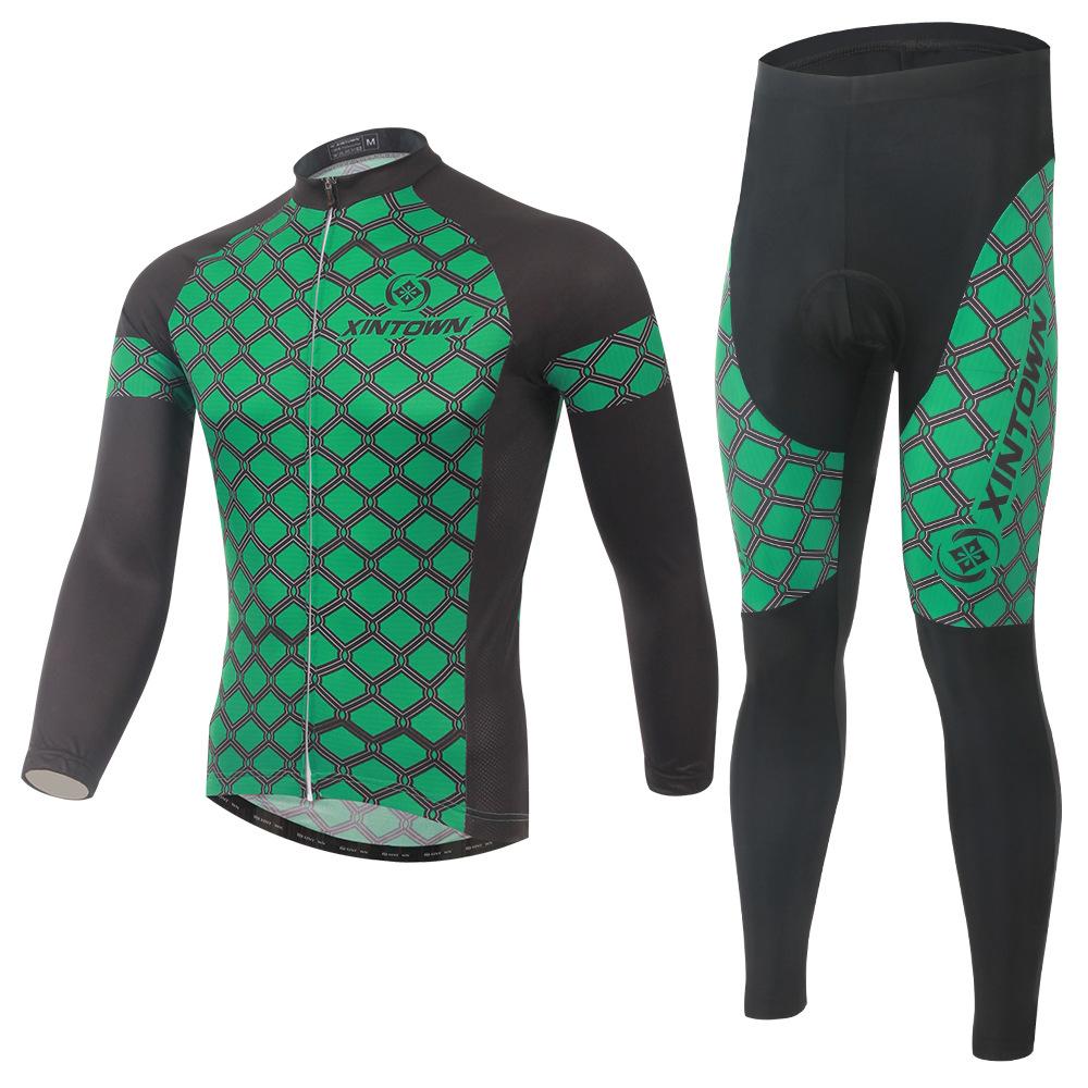 2016 Spring Autumn Cycling Jersey Man Bicycle Bike Long Sleeve Sportswear Cycling Clothing CC0362