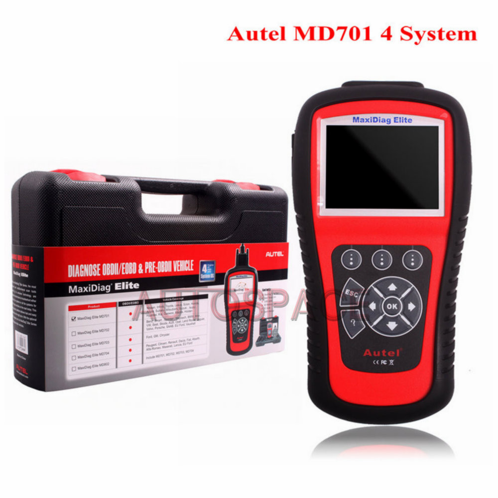 Autel MaxiDiag Elite MD701 4 System Four System(China (Mainland))