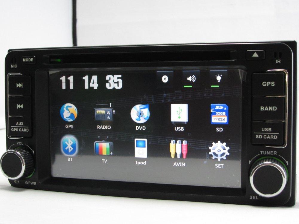 2 din car autoradio dvd gps for toyota rav4 corolla camry. Black Bedroom Furniture Sets. Home Design Ideas
