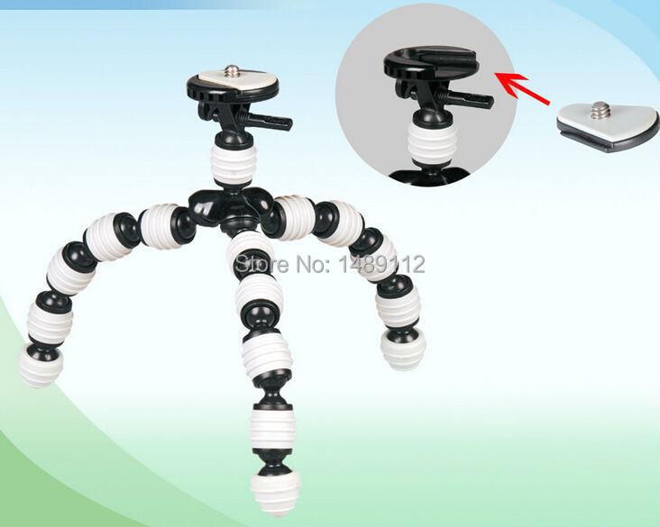 best price Flexible Leg Gorillapod Type Mini Tripod for Digital Camera Free shipping(China (Mainland))