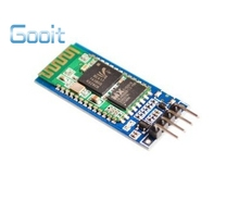 Hot sales 10PCS HC-06 Wireless Serial 4 Pin Bluetooth RF Transceiver Module With backplane(China (Mainland))