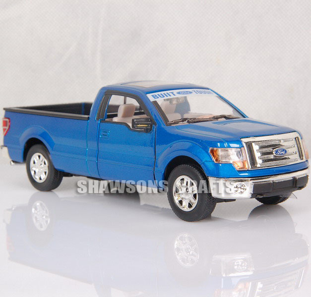 DIECAST METAL 1:32 MODEL CAR TOYS SOUND & LIGHT PULL BACK 2009 FORD F150 RAPTOR(China (Mainland))
