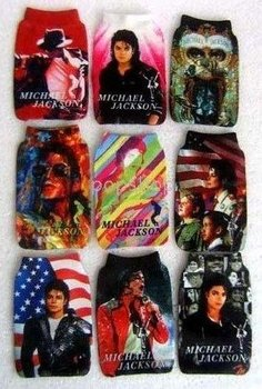 Hot Sale MP3/MP4/ mobile case MICHAEL JACKSON cell phone case  Protection cell phone bag/case soft Socks