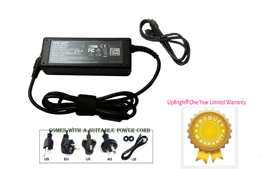 UpBright New AC / DC Adapter For Thecus N2520 2 Bay NAS Diskless System Network Storage Power Supply Cord Charger Mains PSU(China (Mainland))