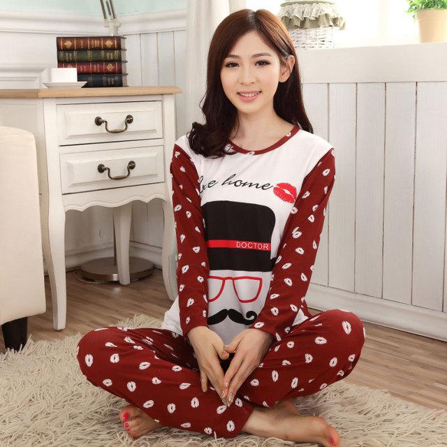 Aliexpress acquista pigiama invernale cotone coreana