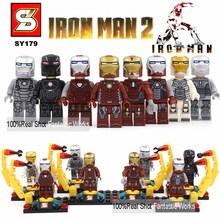 2016 Marvel The Avengers Minifigures Fantastic 4 Guardians of the Galaxy X-Men Captain America 3 Civil War blocks Figures(China (Mainland))