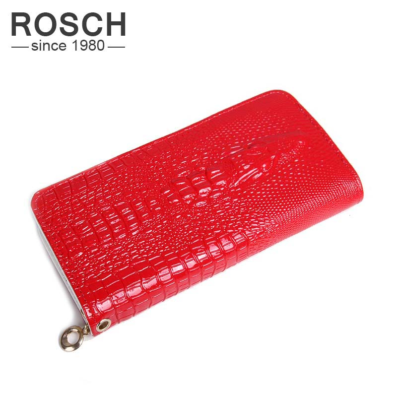 High Quality Women Wallets Female 2016 Coin Purses Holders PU Leather 3D Embossing Alligator Casual Crocodile Long Lady Wallets(China (Mainland))