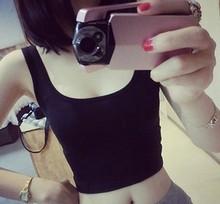 2016 Summer New Sexy Women Strap Tank Tops Chiffon Sleeveless Vest Camis Black Red Grey White AT317(China (Mainland))