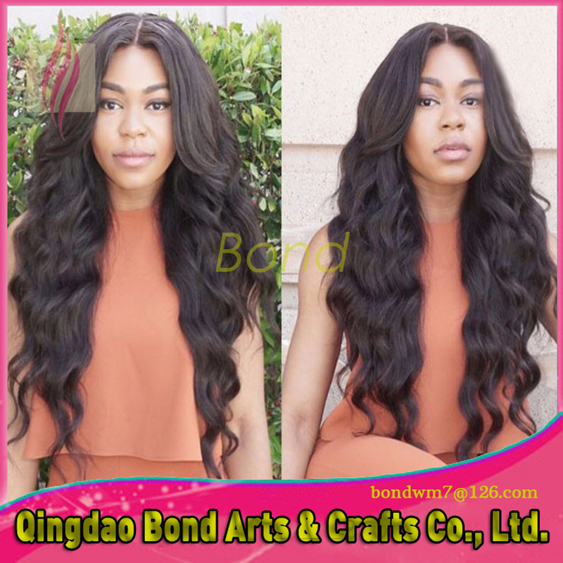 Cheap!!! sexy Malaysian virgin wavy human hair full lace wigs lace front wigs with natural hairline for black women<br><br>Aliexpress