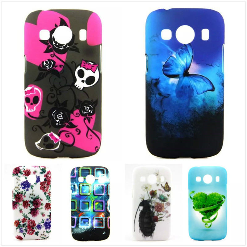 High Quality Colorful Painted Cover Hard Phone Case For Samsung Galaxy Ace 4 G357FZ G357 Protection Back Cases,CCT-P024(China (Mainland))
