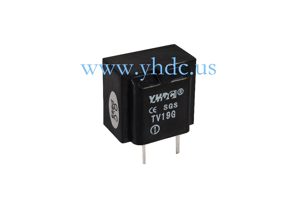 Free shipping YHDC TV19G Voltage 800V Current 4mA/4mA 1000:1000 PCB Welding Linearity 0.1 Mini Current Voltage Transformer(China (Mainland))