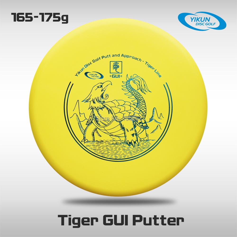 Professional Yikun Disc Golf Putter Tiger Line  GUI Free Shipping PDGA Approval<br><br>Aliexpress