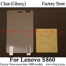 Clear Glossy LCD Screen Protector Guard Cover Protective Film Shield For Lenovo S860 Dual SIM (Not S860e)