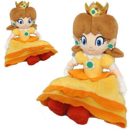 Super Mario Bros 'Принцесса Дэйзи Мягкие Плюшевые Игрушки Куклы Для Детей Подарок для Ребенка