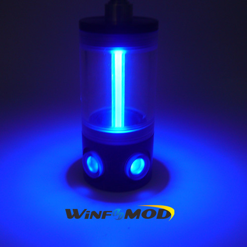 WinfMOD (D)50mm LED Lighting Water Tank /  Water Cooling Reservoir ----- Blue(China (Mainland))