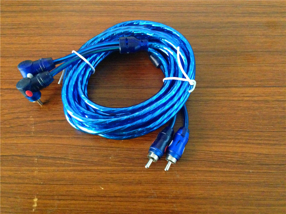 amp hook up without rca
