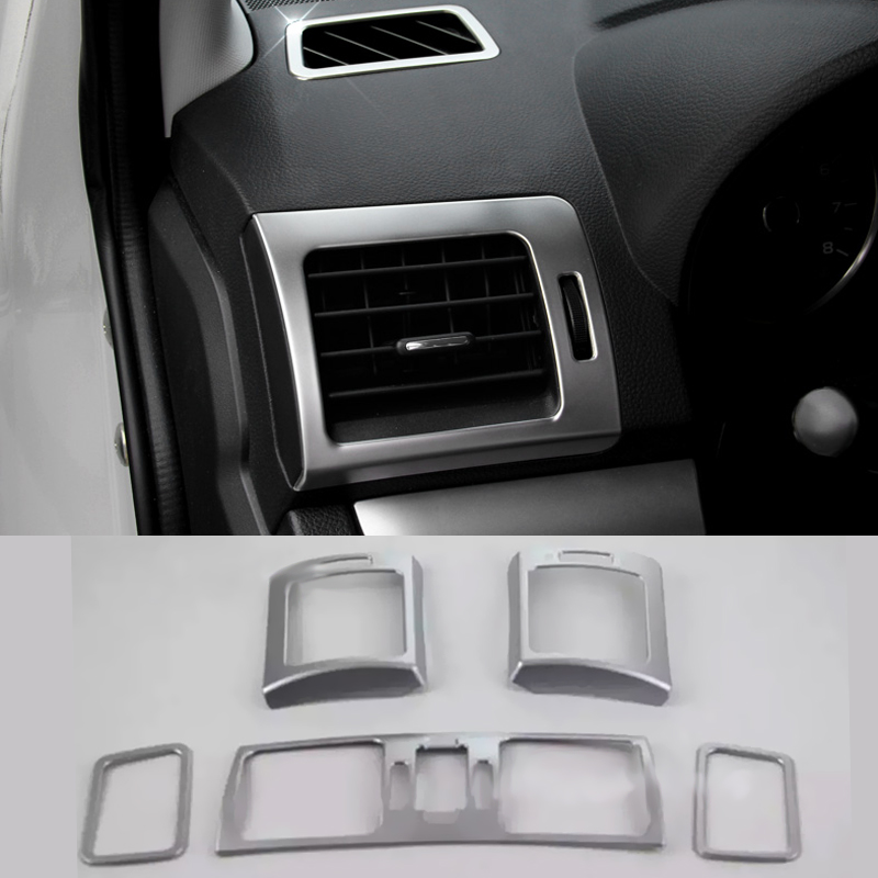 Car Styling s ABS Dashboard Vents Air Conditioning Vent Decorative Frame Sequins Subaru XV 2012-2015 Trim Decoration - Elegant store