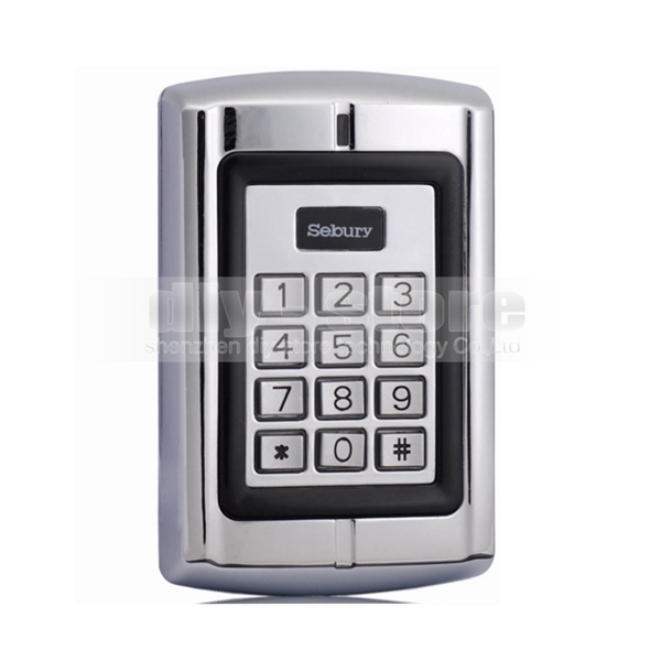 Door Lock Access Control Controller RFID ID Metal Keypad Card Reader Security For House Office(China (Mainland))