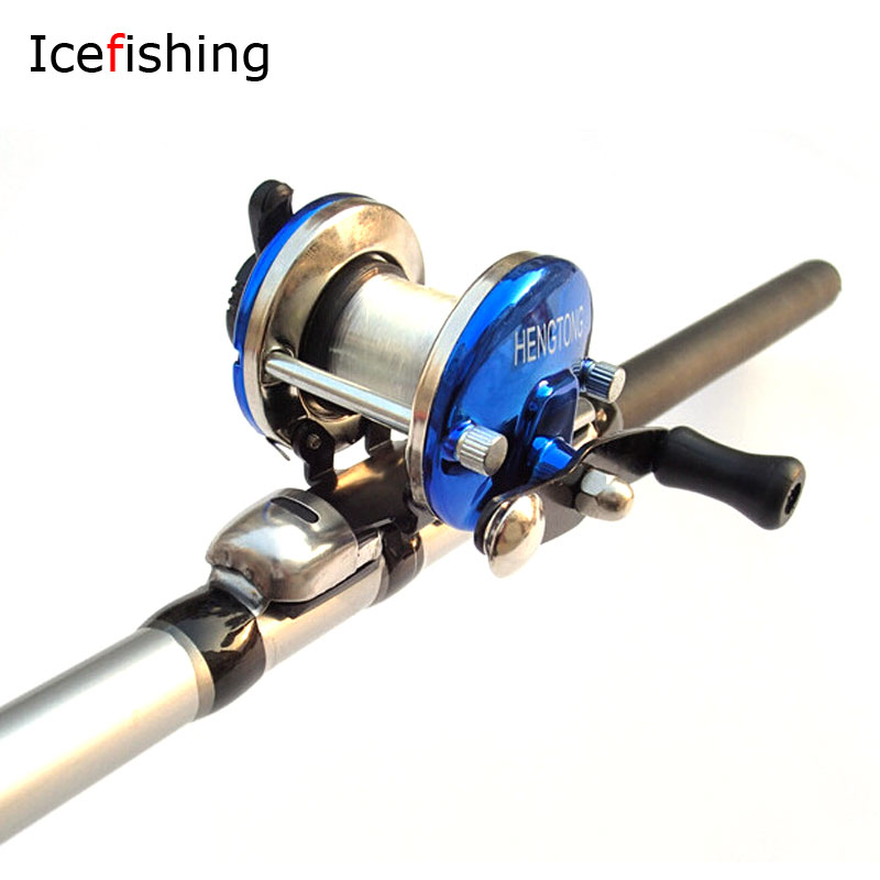 Buy 2pcs small size ice fishing reel drum for Discount fishing reels