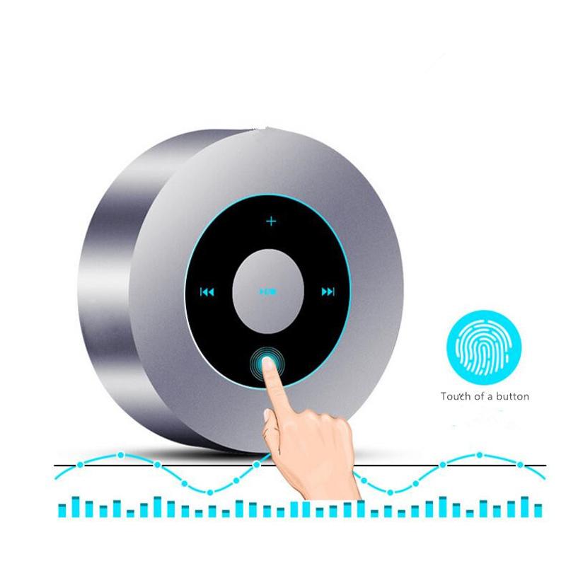 GOESTIME Mini Wireless Bluetooth Speaker Handsfree Stereo Music Sound wireless Portable Speaker For Computer Mobile Phone(China (Mainland))