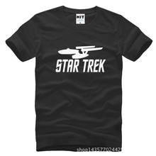 Star Wars Star trek Printed Mens Men T Shirt Tshirt Fashion 2015 New Short Sleeve O Neck Cotton T-shirt Tee Camisetas Hombre