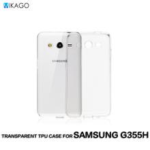 Transparent Soft TPU Silicon Lfor Samsung Galaxy Core 2 G355H G355 Case For Samsung Galaxy Core 2 G355H G355 Phone Cover Case