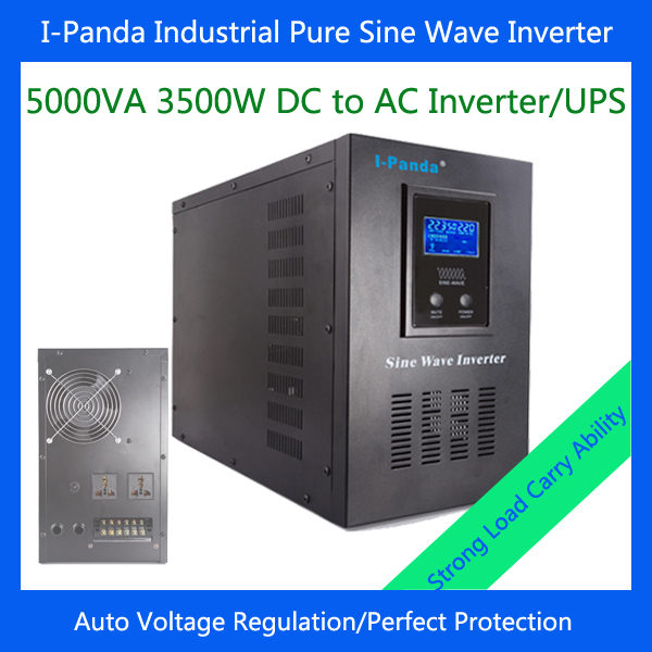 Intelligent Controller LCD Display 5000VA DC 24V/48V Sine Wave Inverter With Battery Charge and UPS Contimuously Full Power 3KW<br><br>Aliexpress