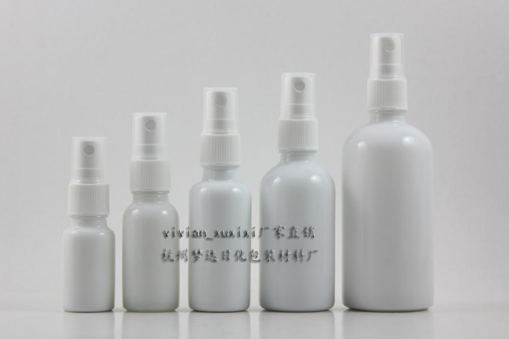 wholesale,50ml round white travel refillable empty atomiser spray perfume bottle,perfume container,perfume packing(China (Mainland))