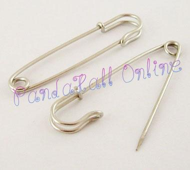 Iron font b Kilt b font Pins Platinum 64mm long 18mm wide 6mm thick hole about