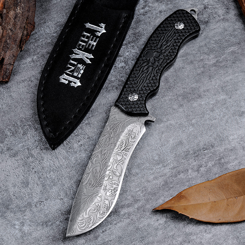 Buy High Quality Cold Steel D2 Survival Tactical Hunting Knife Facas Taticas Navajas Cuchillos New Arrivel Utility Tools Zakmes cheap