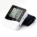 Arm blood pressure monitor health care monitors tonometer pulsometro Digital Upper Portable sphygmomanometer 2015 wholesale