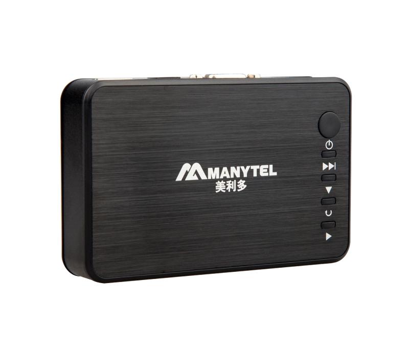 MANYTEL Full HD 1080P USB External HDD Media Player with HDMI VGA SD Support MKV H.264 RMVB WMV Aluminum Shell .(China (Mainland))