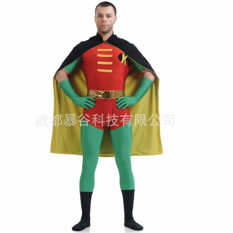 Sexy male robin costume
