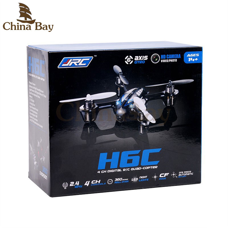 2MP Mini Drones With Hd Camera Jjrc H6c Micro Quadcopters With Camera Rc Helicopter Camera Professional Drones Nano Copter