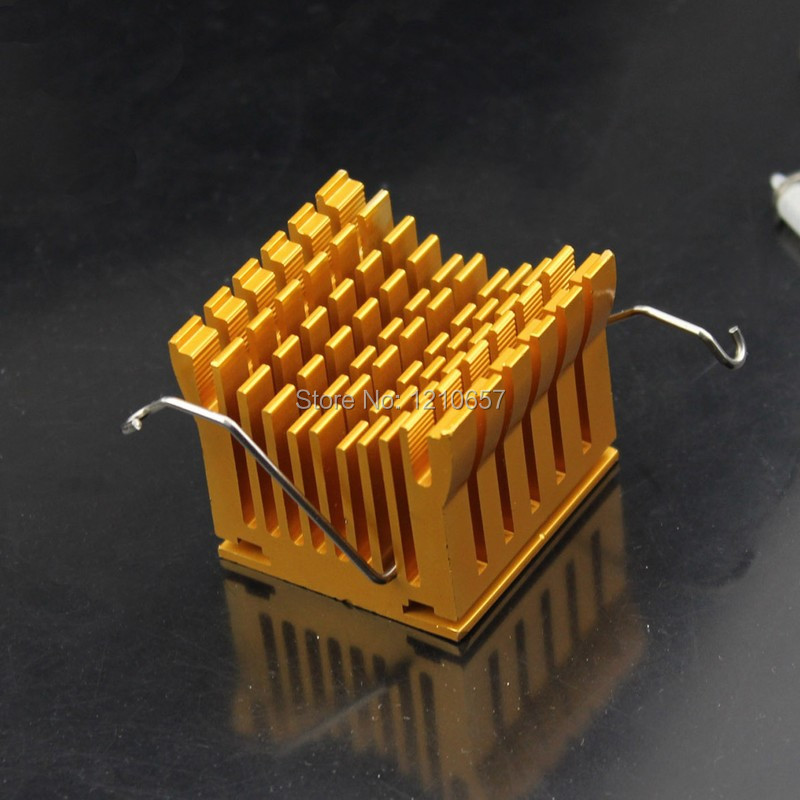 1pcs Motherboard Chipset Golden Northbridge Heatsink Cooling(China (Mainland))
