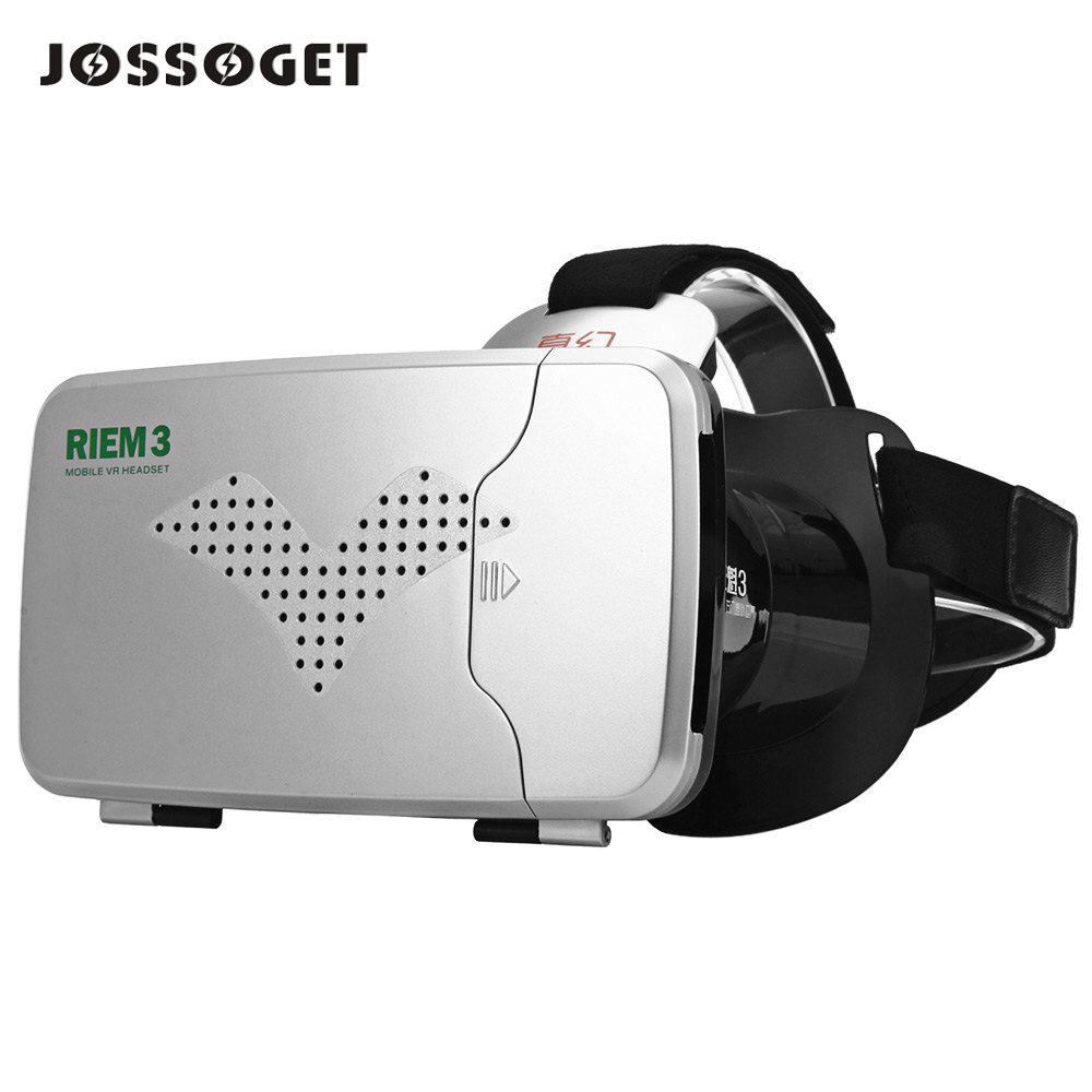 RITECH Riem 3 Virtual Reality 3D VR Glasses Head Mounted Headset Private Theater for 3.5 - 6 inches Smartphone<br><br>Aliexpress