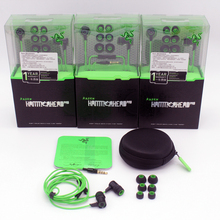 Razer Hammerhead Pro Headphone&Earphone With Microphone and Retail Box In Ear Gaming Headsets Noise Isolation Stereo Deep Bass
