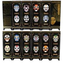 Antique Small Screen Six Peking Opera Business Gifts/National Characteristics Free Shipping(China (Mainland))