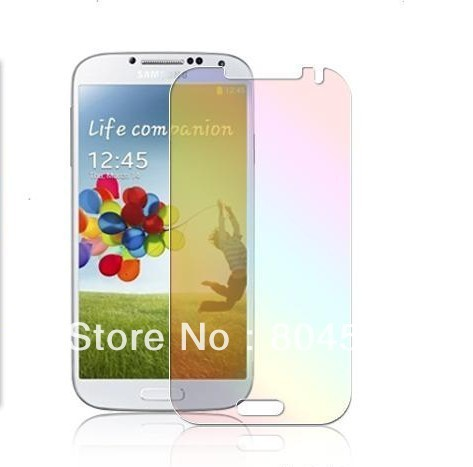 Galaxy S IV Clear Screen Protector For Samsung Galaxy S4 i9500, Without Retail Package+100pcs/lot,Free Shipping  SP01