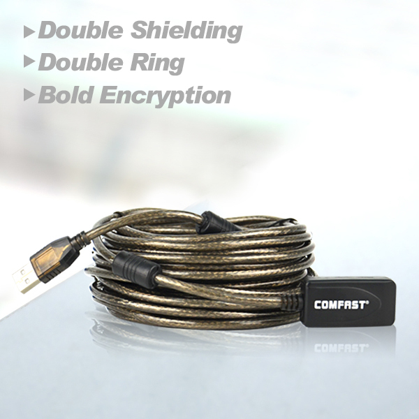 Comfast WiFi CF-U1010M USB extension ling high speed usb cable with usb signal power amplifier free shipping wifi usb adapter