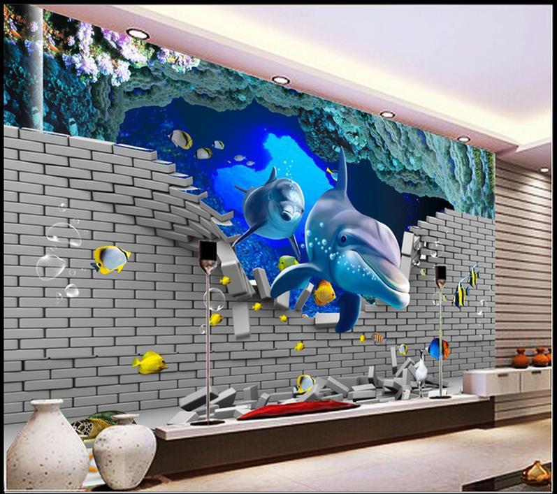 Image gallery imagenes murales en 3d for Papel de pared dormitorio