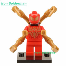 Single Sale Minifigures Sale Marvel Super Hero Avengers Iron Man Batman Deadpool Building Blocks Model Toys Compatible with lego(China (Mainland))