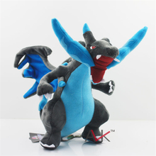 """Buy Anime Monsters XY Plush Toy Mega Charizard X Movies & TV Plush Toy Dolls Soft Stuffed Animals & Plush Kids Gift 10"""" 25cm for $10.50 in AliExpress store"""