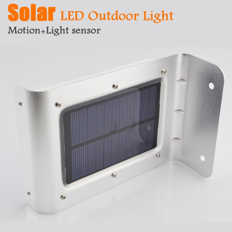 Solar lamps garden light motion sensor outdoor street wall - Lamparas solares interior ...