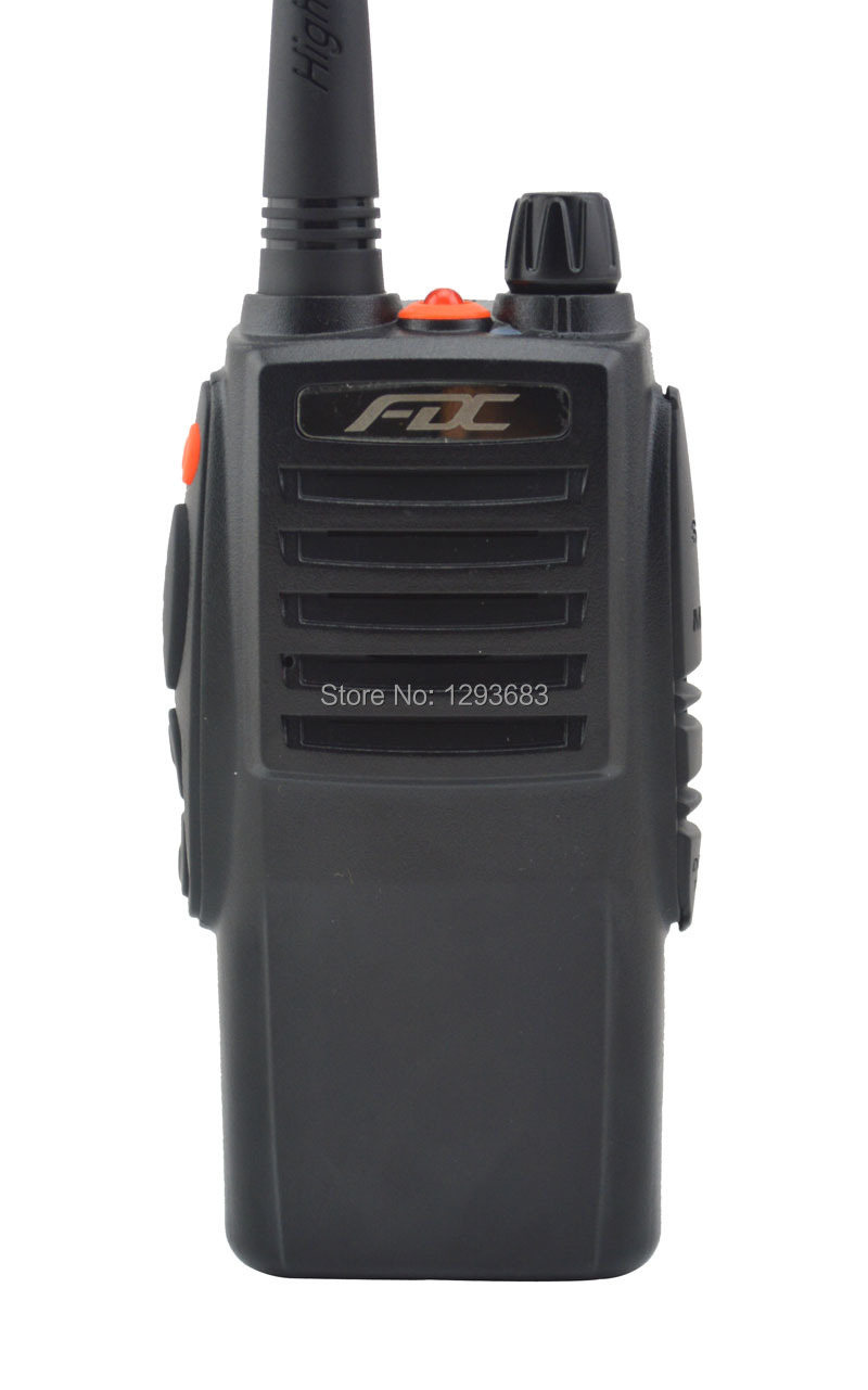 10W High Output Power FD-850 Plus Walkie Talkie 10Watt VHF 136-174MHz Professional FM Transceiver(China (Mainland))